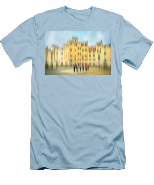 Lucca Ampitheatre Impression 2 Men's T-Shirt (Athletic Fit)