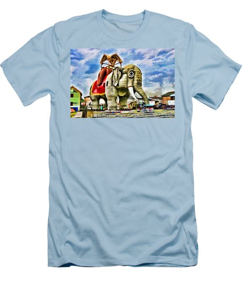 Lucy The Elephant 2 Men's T-Shirt (Athletic Fit)
