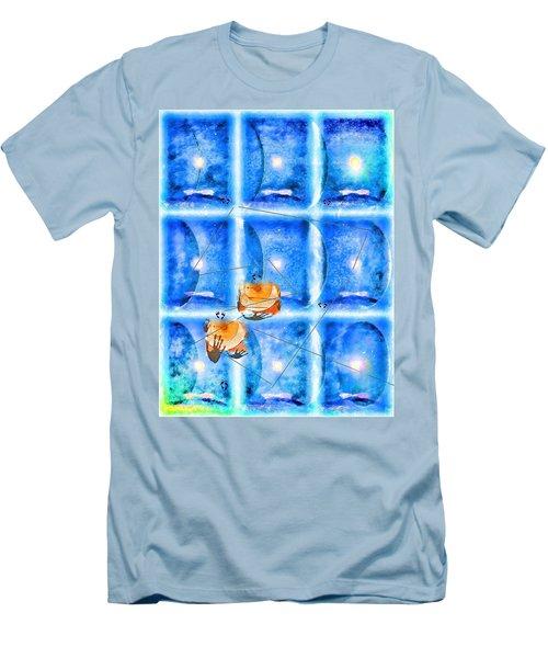 Lunar Balance Men's T-Shirt (Athletic Fit)