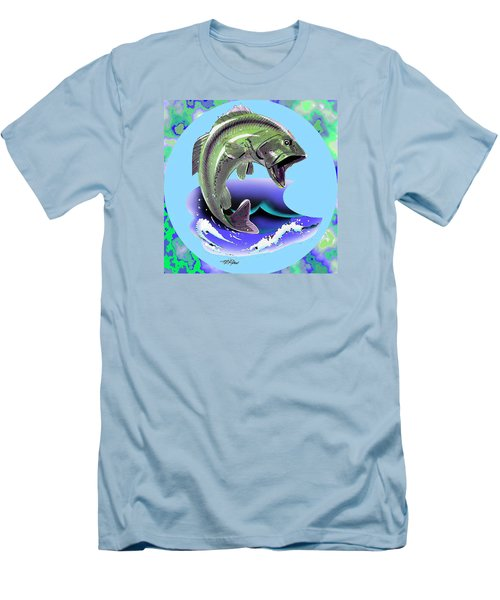 Lunker Men's T-Shirt (Athletic Fit)