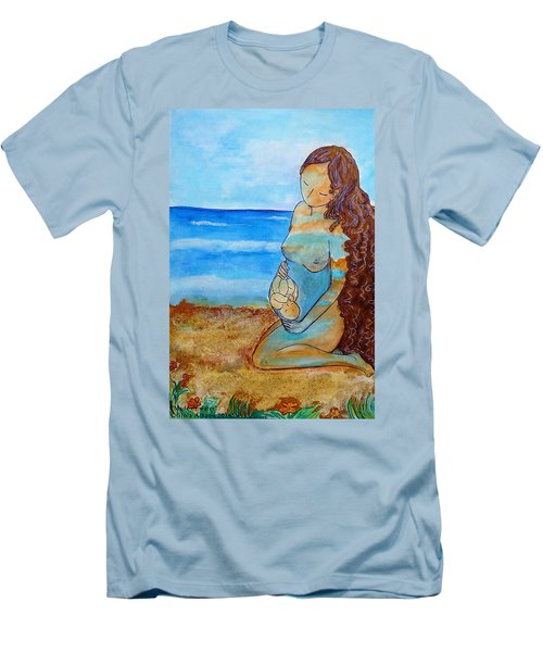 Made Of Water Men's T-Shirt (Slim Fit) by Gioia Albano