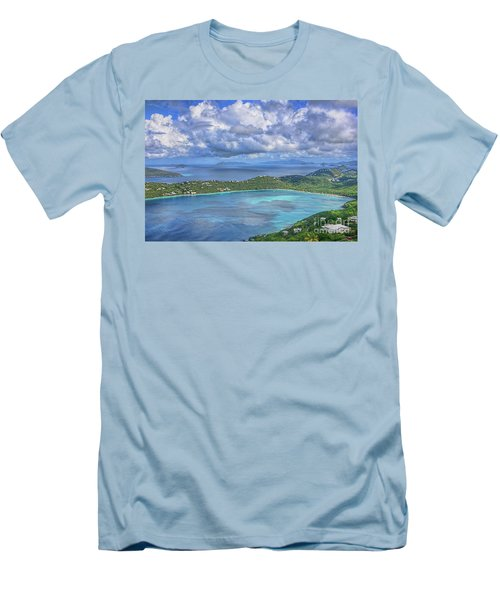 Magens Bay  Men's T-Shirt (Slim Fit) by Olga Hamilton