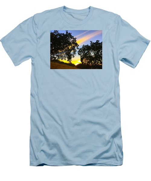 Magic Hour Sunset Men's T-Shirt (Athletic Fit)