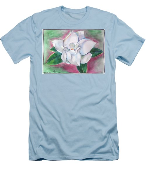 Magnolia 2 Men's T-Shirt (Slim Fit) by Loretta Nash