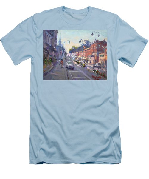 Main St Georgetown Downtown  Men's T-Shirt (Athletic Fit)
