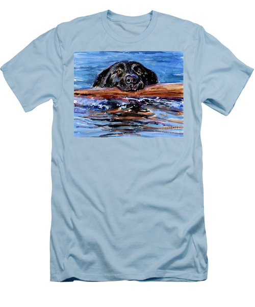 Make Wake Men's T-Shirt (Slim Fit) by Molly Poole