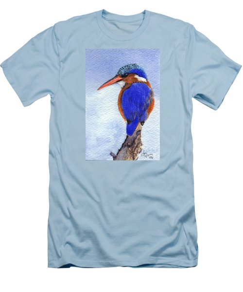 Malachite Kingfisher Men's T-Shirt (Athletic Fit)
