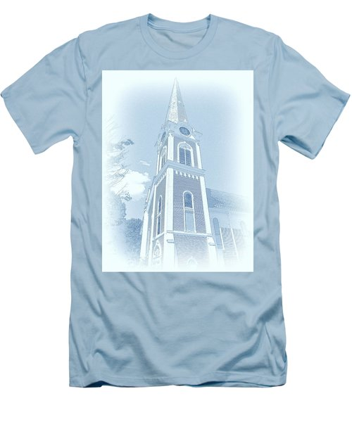 Manchester Vt Church Men's T-Shirt (Athletic Fit)