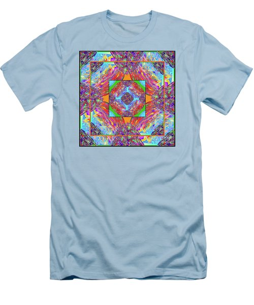 Mandala #1 Men's T-Shirt (Athletic Fit)