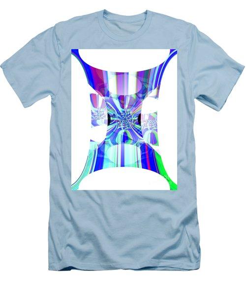 Man's Flag Men's T-Shirt (Slim Fit) by Thibault Toussaint