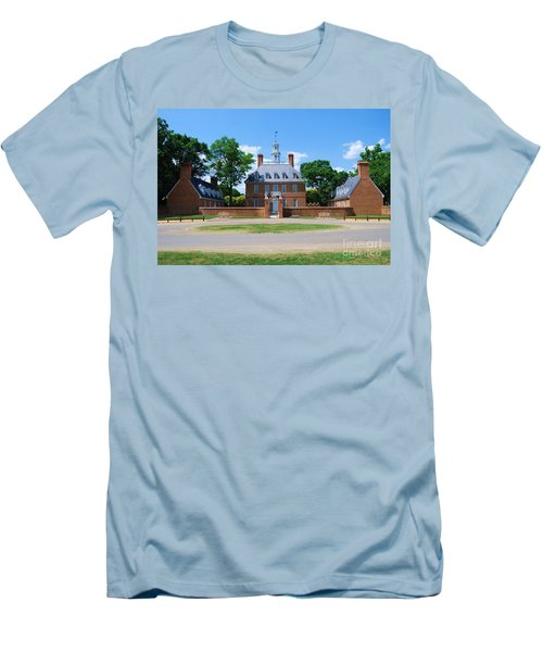 Men's T-Shirt (Slim Fit) featuring the photograph Mansion by Eric Liller