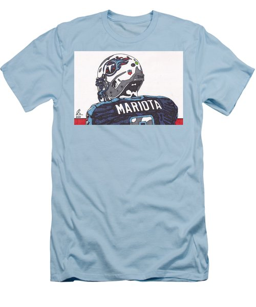 Marcus Mariota Titans 2 Men's T-Shirt (Athletic Fit)