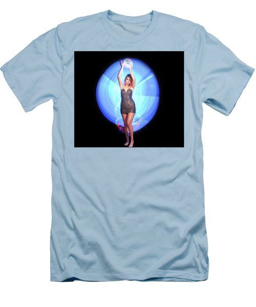 Maria Bringing Magic To The Night. Men's T-Shirt (Athletic Fit)