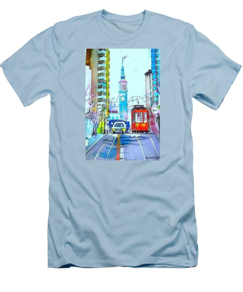 Market Street Men's T-Shirt (Athletic Fit)