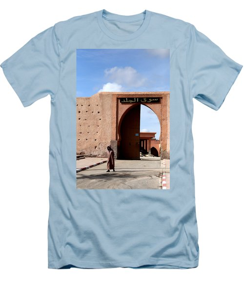 Men's T-Shirt (Slim Fit) featuring the photograph Marrakech 1 by Andrew Fare