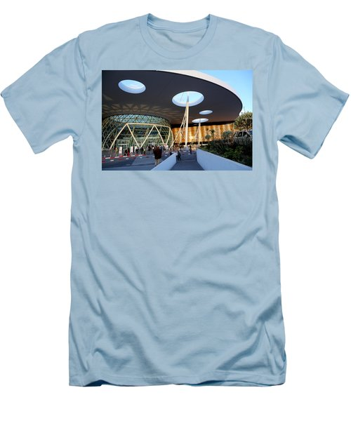 Men's T-Shirt (Slim Fit) featuring the photograph Marrakech Airport 2 by Andrew Fare