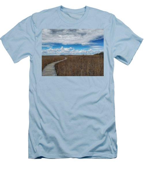 Marsh Walk 3 Men's T-Shirt (Athletic Fit)