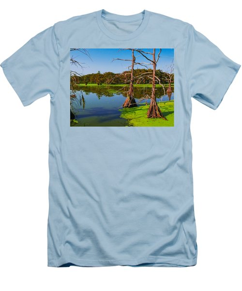Marshes Of Wallisville Men's T-Shirt (Athletic Fit)