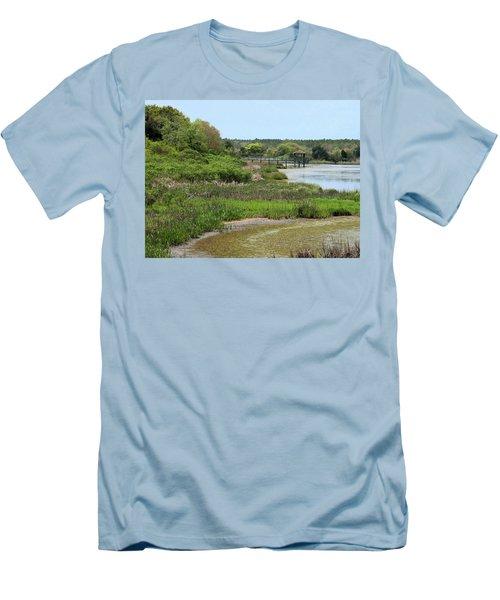 Marshlands Men's T-Shirt (Slim Fit) by Cathy Harper