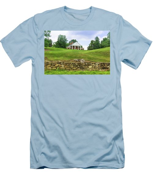 Men's T-Shirt (Athletic Fit) featuring the photograph Marye's House by John M Bailey