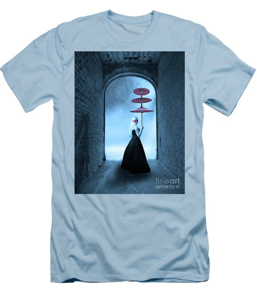 Men's T-Shirt (Slim Fit) featuring the photograph Masquerade by Juli Scalzi
