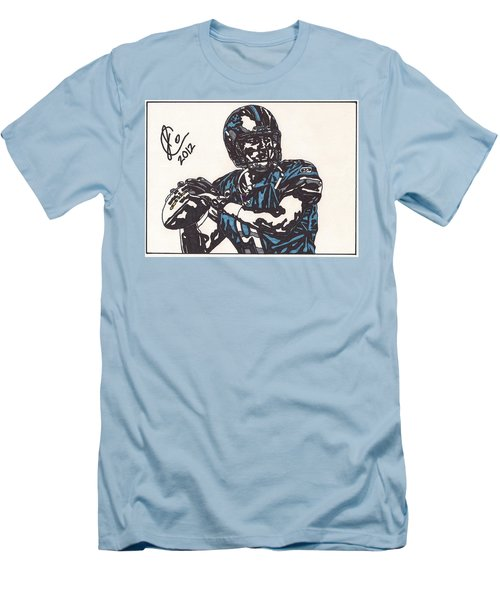 Matthew Stafford Men's T-Shirt (Slim Fit) by Jeremiah Colley