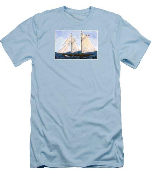 Mavis 1901 Men's T-Shirt (Slim Fit) by Cindy Hitchcock