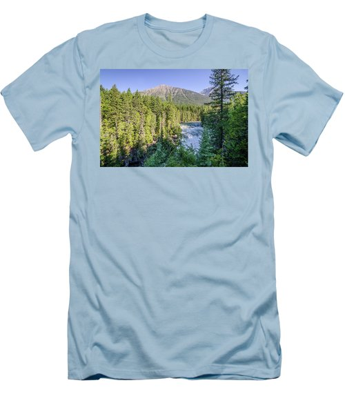 Mcdonald Falls Men's T-Shirt (Athletic Fit)