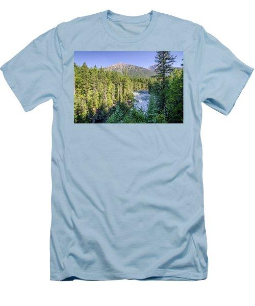 Mcdonald Falls Men's T-Shirt (Athletic Fit)