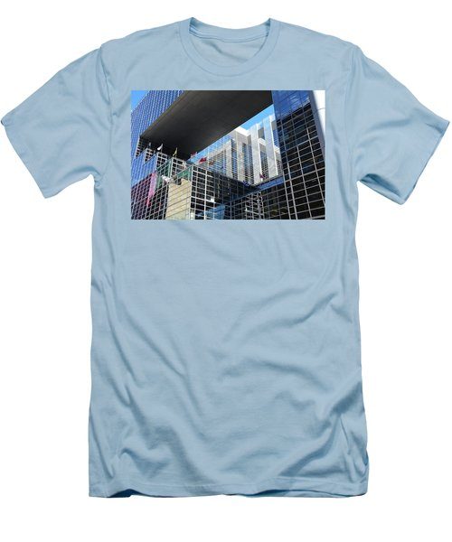 Men's T-Shirt (Athletic Fit) featuring the photograph Mcgee Building  Ottawa by John Schneider