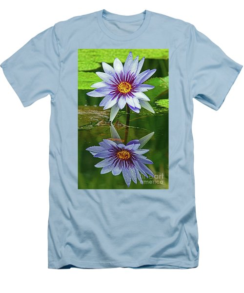 Mckee Waterlily II Men's T-Shirt (Athletic Fit)