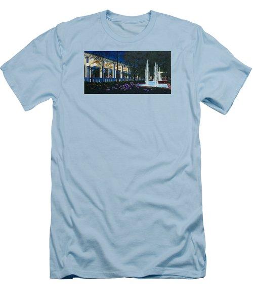 Meet Me At The Muny Men's T-Shirt (Slim Fit) by Michael Frank