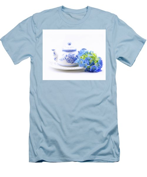 Memories In Blue Men's T-Shirt (Athletic Fit)