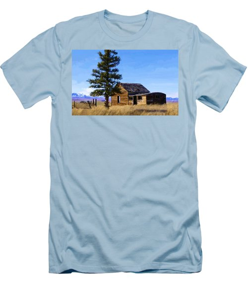 Memories Of Montana Men's T-Shirt (Athletic Fit)