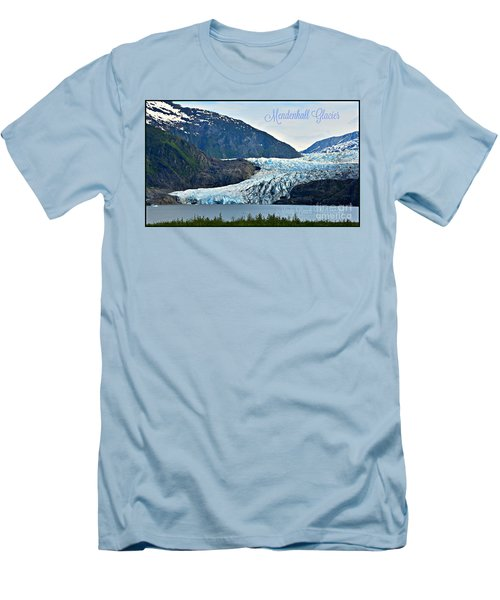 Mendenhall Glacier Men's T-Shirt (Athletic Fit)