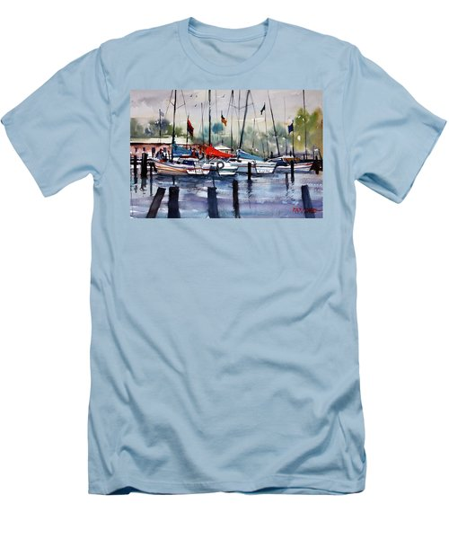 Menominee Marina Men's T-Shirt (Athletic Fit)