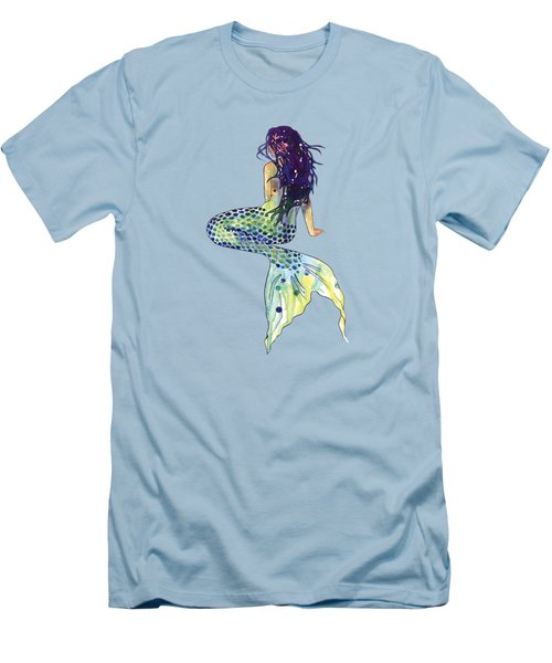 Mermaid Men's T-Shirt (Slim Fit) by Sam Nagel
