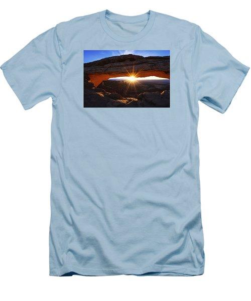 Mesa Sunrise Men's T-Shirt (Slim Fit) by Chad Dutson