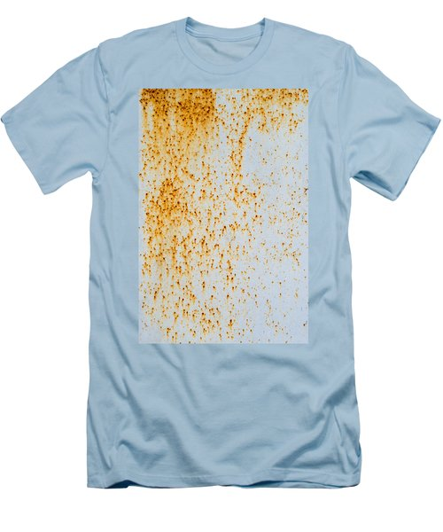 Men's T-Shirt (Slim Fit) featuring the photograph Metal Rust by John Williams