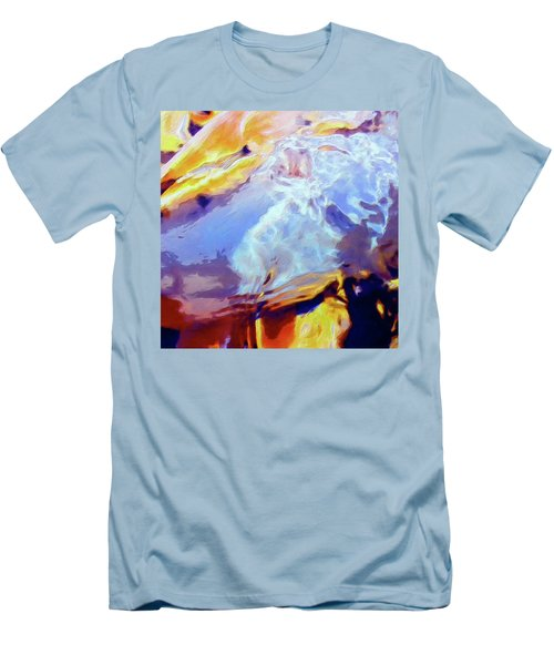 Men's T-Shirt (Slim Fit) featuring the painting Metamorphosis by Dominic Piperata