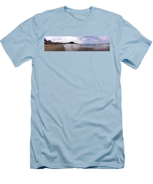 Men's T-Shirt (Slim Fit) featuring the photograph Mexico Memories 7 by Victor K