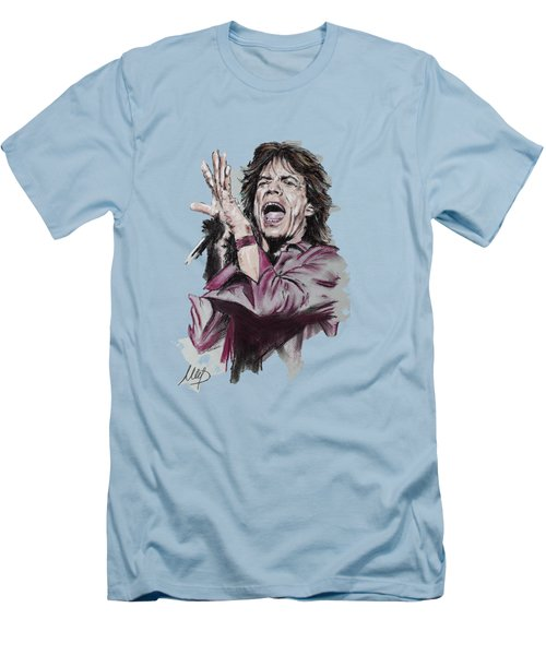 Mick Jagger Men's T-Shirt (Athletic Fit)