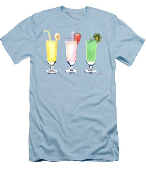 Milkshake In Style Men's T-Shirt (Athletic Fit)