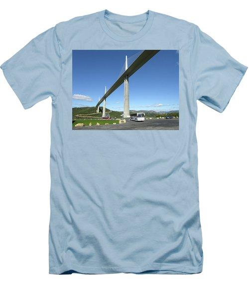 Millau Viaduct Men's T-Shirt (Athletic Fit)