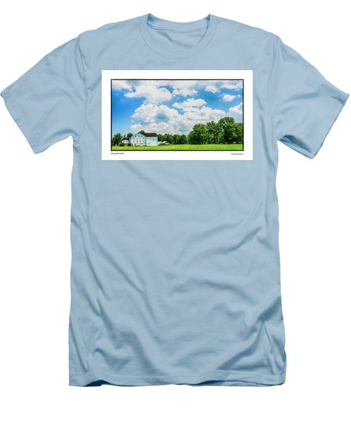 Mingoville Clouds Men's T-Shirt (Slim Fit) by R Thomas Berner