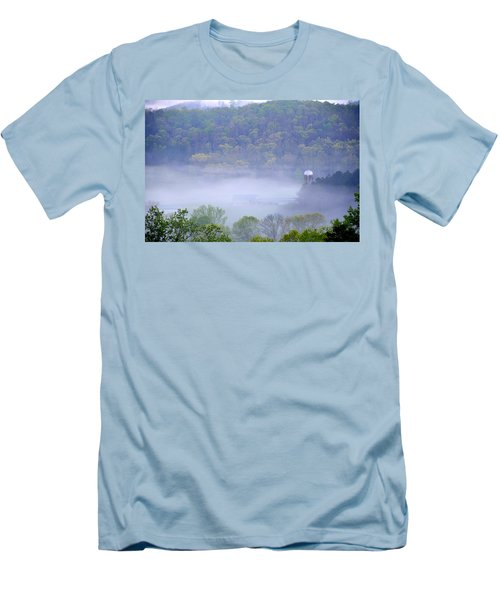 Mist In The Valley Men's T-Shirt (Athletic Fit)
