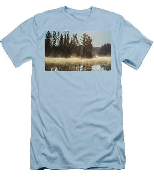 Mist On Costello Lake Men's T-Shirt (Athletic Fit)