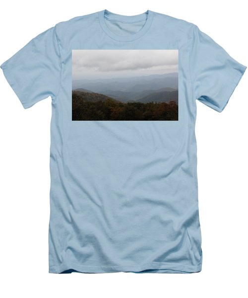 Misty Mountains More Men's T-Shirt (Athletic Fit)