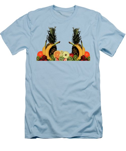 Mixed Fruits Men's T-Shirt (Athletic Fit)