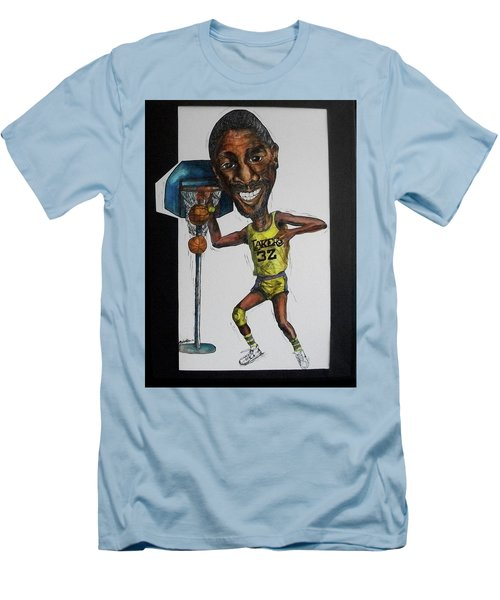 Mj Caricature Men's T-Shirt (Athletic Fit)